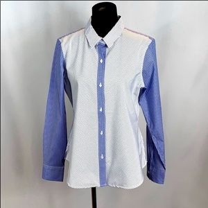 Calvin Klein Stripped Button Down Shirt